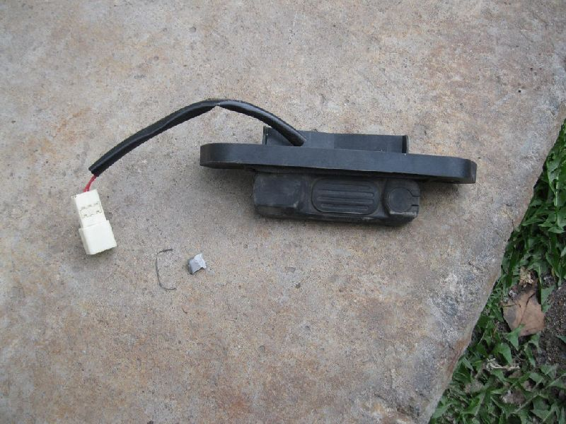 Ручка открывания крышки багажника Mitsubishi Outlander Xl CW1W 4B11 2006 2007 2008 2009 2010 2011 2012 (б/у) MR959664