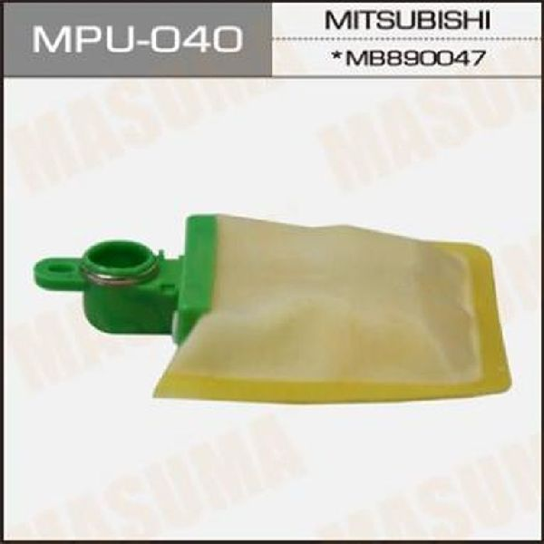 Фильтр топливный Mitsubishi Pajero 3 V64W 4D56 2000 MPU040