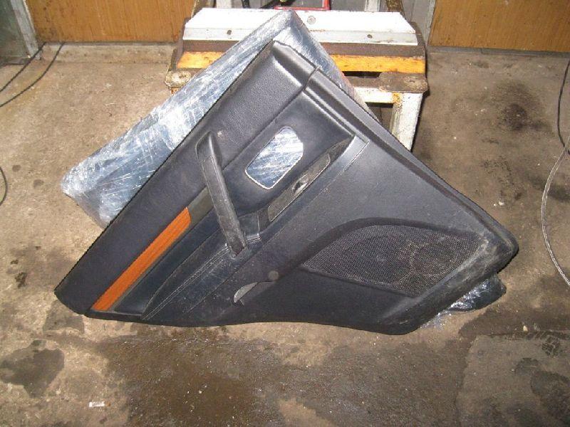 Обшивка двери Mitsubishi Pajero 4 V87W 4M41 2006 задняя левая (б/у) 7222A273XB