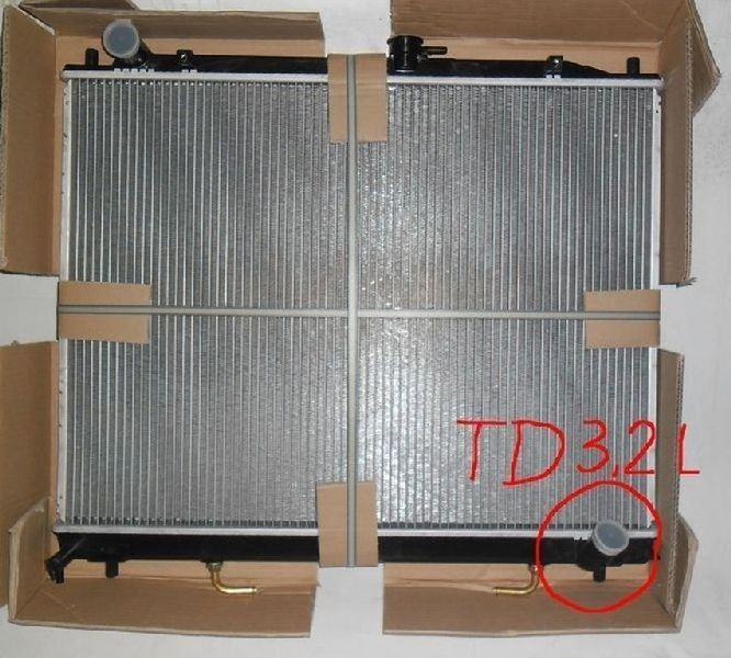 Радиатор двс Mitsubishi Pajero 4 V87W 4M41 2006 248181K