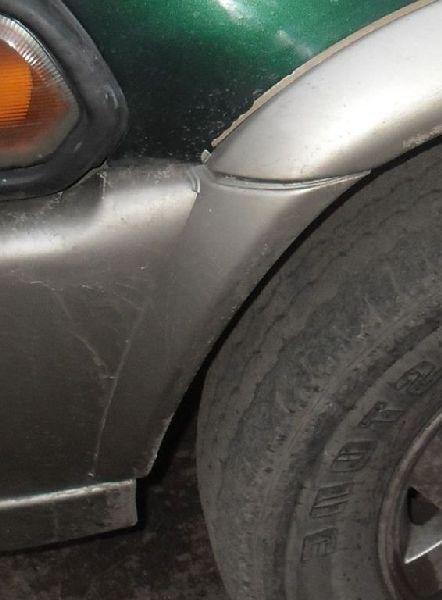 Расширитель бампера Mitsubishi Pajero Sport 1 K97W 4D56 1998 передний (б/у)