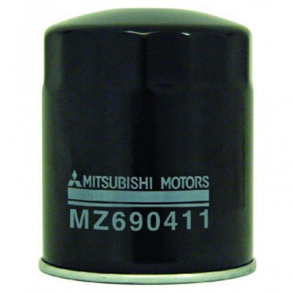 Фильтр масляный двигателя Mitsubishi Pajero Sport 1 K97W 4D56 1998 MZ690411