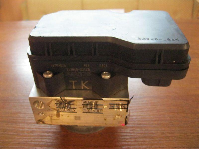 Блок abs Mitsubishi Pajero Sport 2 KH4W 4D56 2008 2009 2010 2011 2012 2013 2014 2015 (б/у) 4670A826