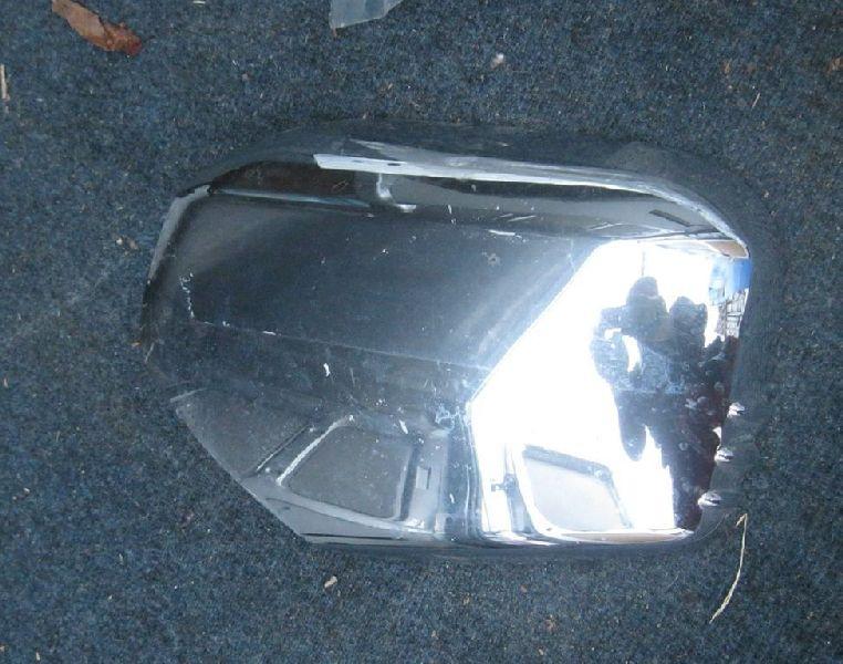 Накладка зеркала Mitsubishi L200 2005- KB4T 4D56 2008 2009 2010 2011 2012 2013 2014 2015 левая (б/у) 7632A487