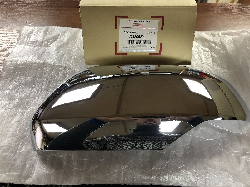 Накладка зеркала Mitsubishi Pajero Sport 3 KS1W 4N15 2015 левая 7632C929