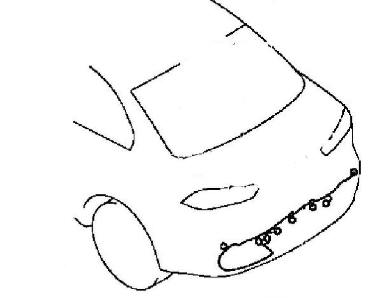 Проводка бампера Mitsubishi Lancer 10 CY 2007 8518A227