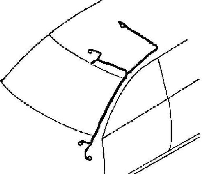 Проводка Mitsubishi Pajero Sport 2 KH 2008 8510C667