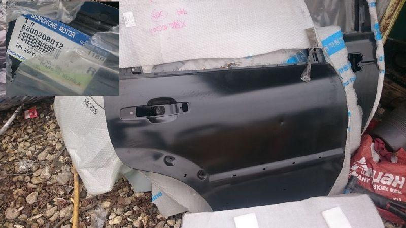 Дверь Ssang Yong Rexton GAB задняя правая (б/у) 6300208012