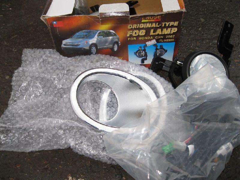 Фара противотуманная Honda Crv 2007 FLHD040