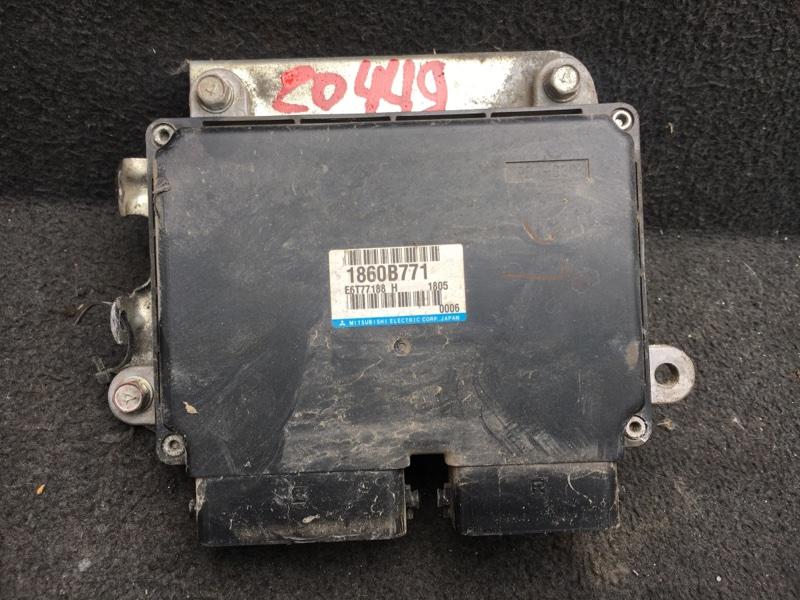 Блок управления двигателем Mitsubishi Outlander Xl CW6W 3.0 2011 (б/у) 1860B771