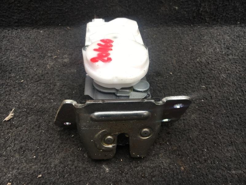 Замок крышки багажника Mitsubishi Outlander Xl CW6W 3.0 2011 задний (б/у) 5808A079