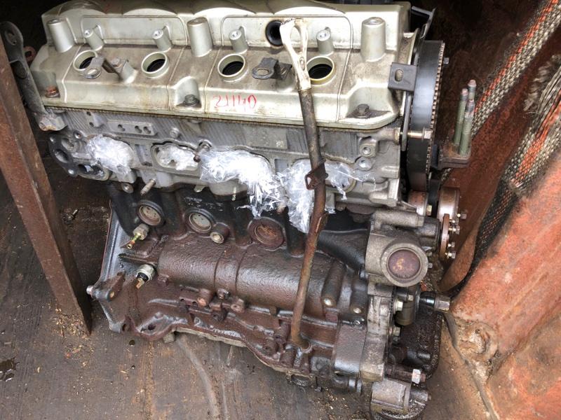 Двигатель Mitsubishi Outlander 1 CU5W 4G69 2004 (б/у) 1000A001