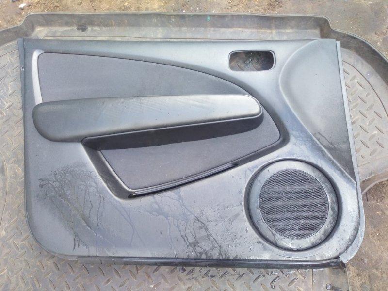 Обшивка двери Mitsubishi Outlander 1 CU5W 4G69 2004 передняя левая (б/у) MN124733HJ