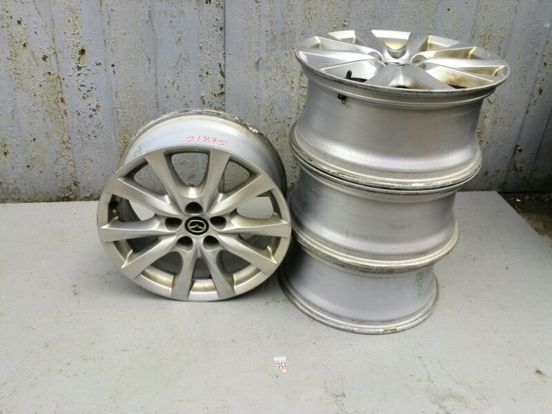 Диск колесный литой Mazda Mazda 6 (б/у) 9965077570