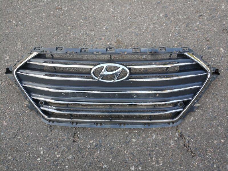 Решетка радиатора Hyundai Elantra 6 (б/у) 86350F2110