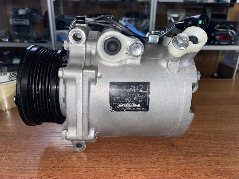 Компрессор кондиционера Mitsubishi Lancer 10 CY3A 4B10 2007 (б/у) 7813A321, 7813A068