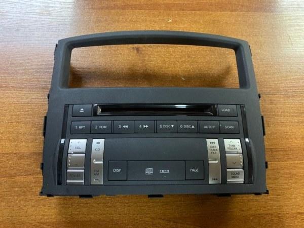 Магнитола Mitsubishi Pajero 4 V98W 3.0 2007 (б/у) 8002A424XA