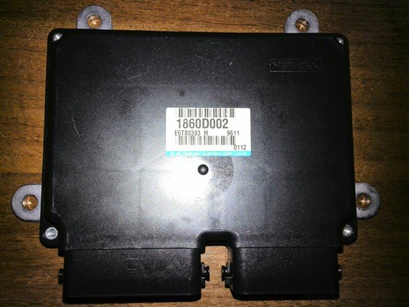 Блок управления двигателем Mitsubishi Outlander 3 GF4W 6B31 2012 1860D002