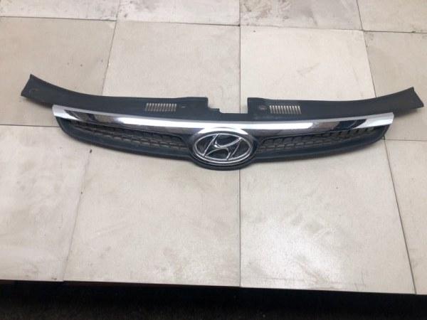 Решетка радиатора Hyundai I-30 JD 1.4 2007 2008 2009 2010 2011 2012 (б/у) 863512R000