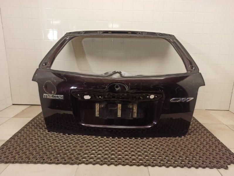 Крышка багажника Mazda Cx-7 ER 2.3T 2006 2007 2008 2009 2010 2011 2012 задняя (б/у) EGY56202XD