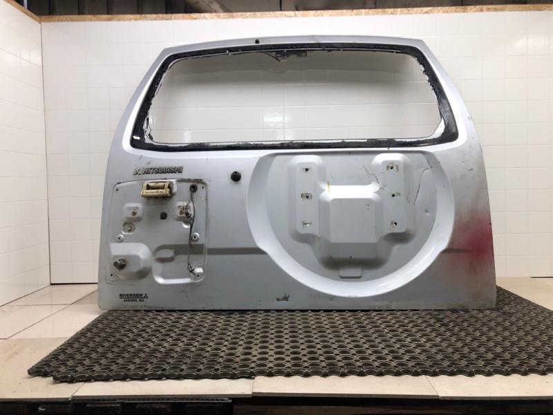Крышка багажника Mitsubishi Pajero 3 задняя (б/у) MR508408