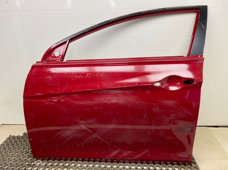 Дверь Hyundai Sonata 6 YF 2.0 2009 2010 2011 2012 2013 2014 передняя левая (б/у) 760043S000