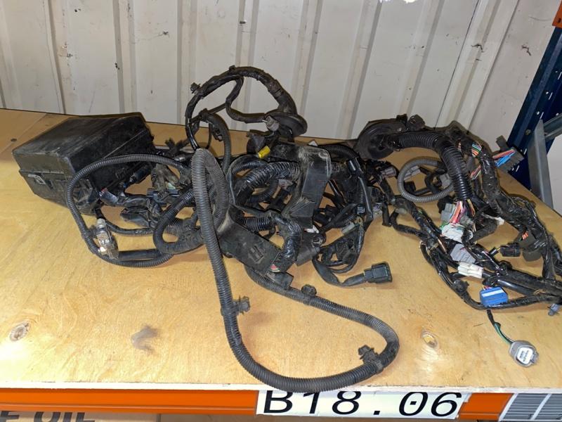 Проводка под капот Mitsubishi Lancer 9 CS1A 4G13 2000 2001 2002 2003 2004 2005 2006 2007 2008 2009 2010 2011 (б/у) MN124837