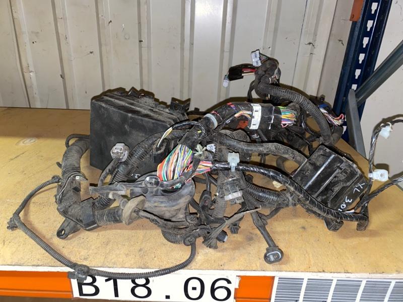 Проводка под капот Mitsubishi Outlander Xl CW1W 4B11 2006 2007 2008 2009 2010 2011 2012 (б/у) 8501A580