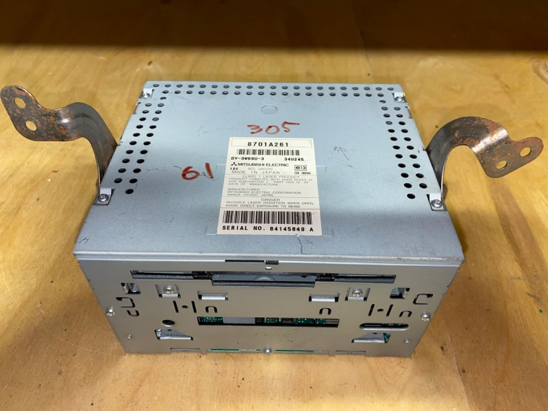 Магнитола Mitsubishi Outlander Xl 4B10 2008 (б/у) 8701A261
