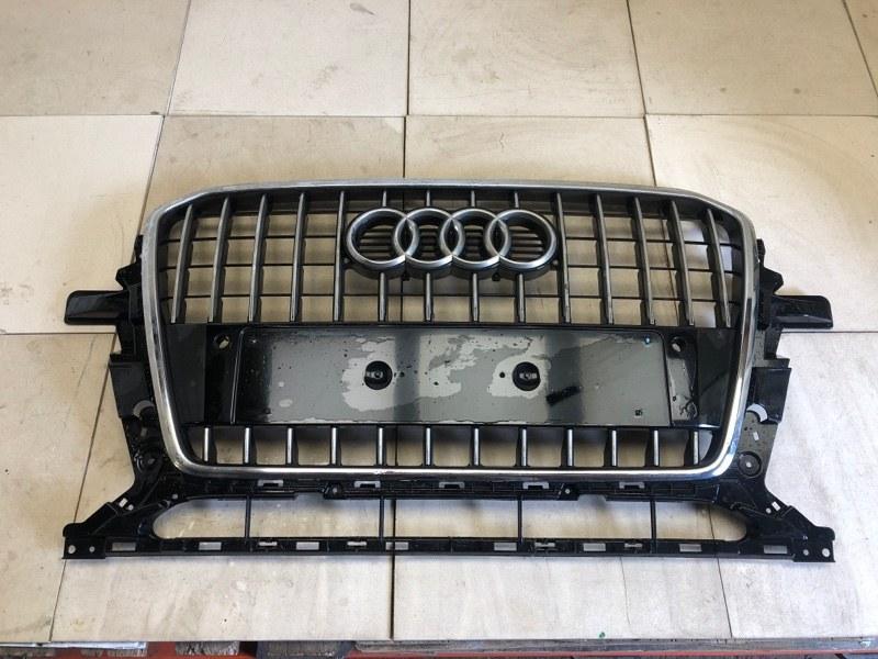 Решетка радиатора Audi Q5 2012 передняя (б/у) 8R0853651R