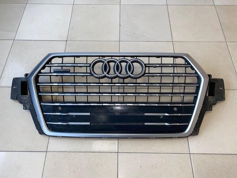 Решетка радиатора Audi Q7 Q7 (б/у) 4M0853651QFUQ