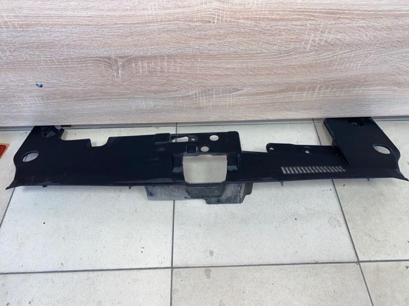 Накладка замка капота Mitsubishi Lancer 10 2007 (б/у) 6400A831