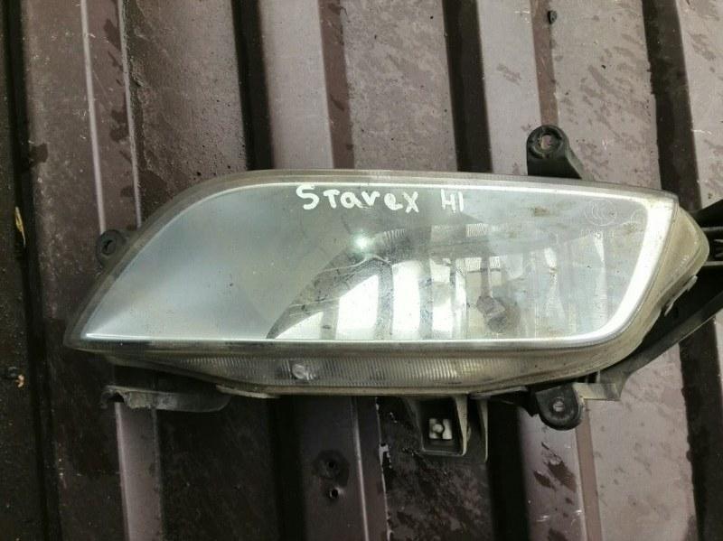 Фара противотуманная Hyundai Starex H1 TQ 2.4 2007 передняя правая (б/у)