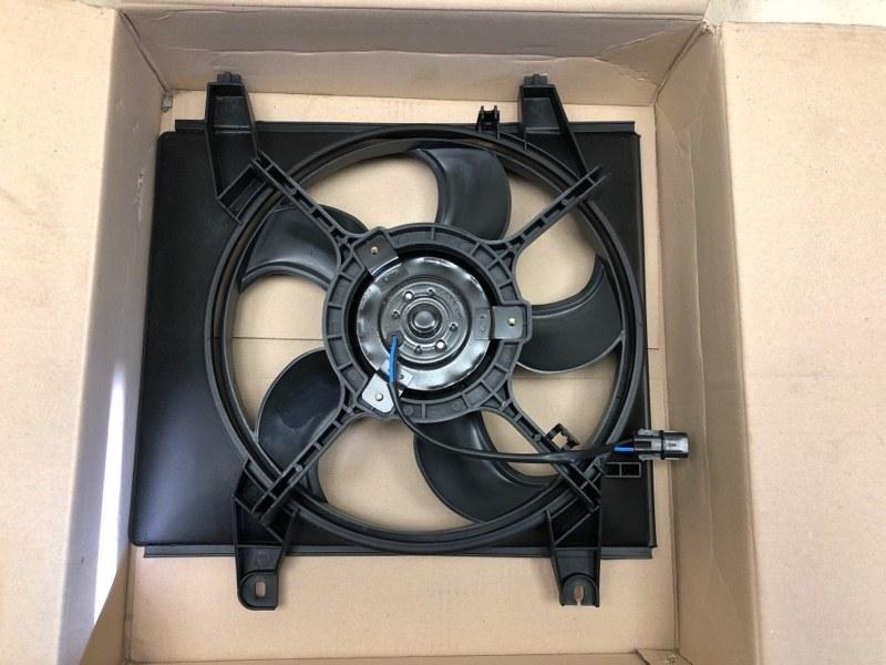 Диффузор радиатора двигателя Hyundai Matrix BE 1.6 2001 NAAA028