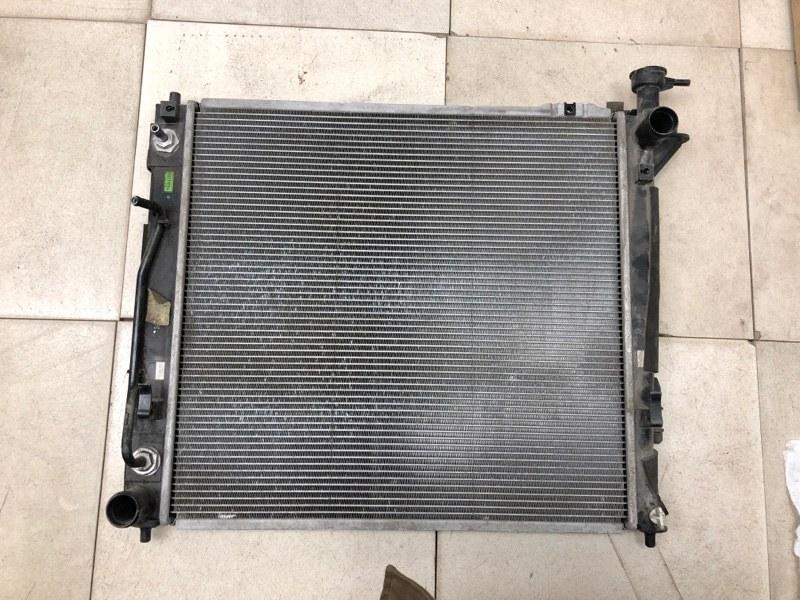 Радиатор двс Hyundai Tucson 1 2004 2005 2006 2007 2008 2009 2010 передний (б/у) 253102B550