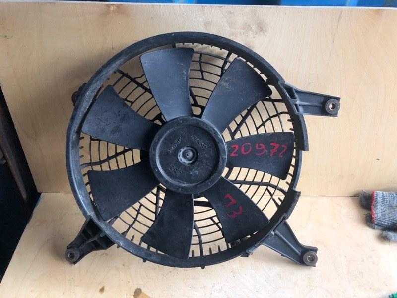 Диффузор радиатора кондицианера Mitsubishi Pajero 3 V78W 3.2D 2003 2004 2005 2006 (б/у) MR500911
