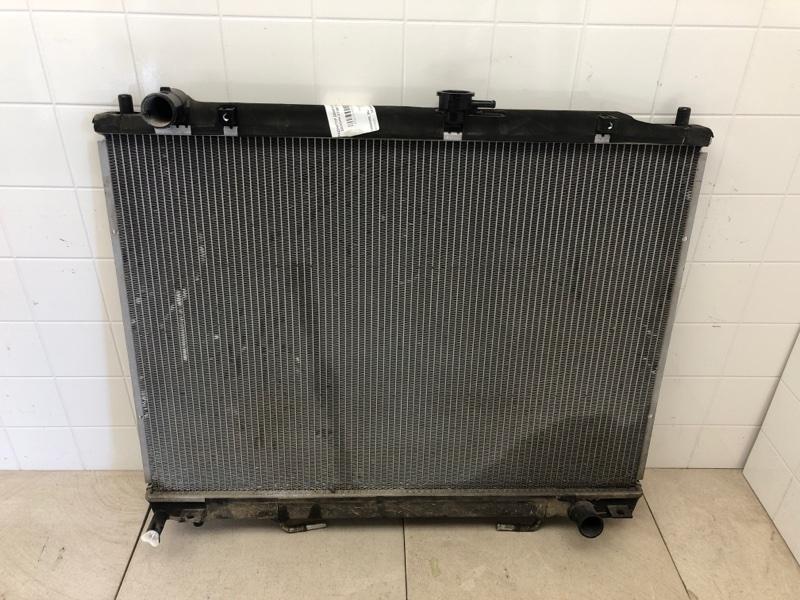 Радиатор двс Mitsubishi Pajero 3 V87W 4M41 2006 (б/у) 1350A659