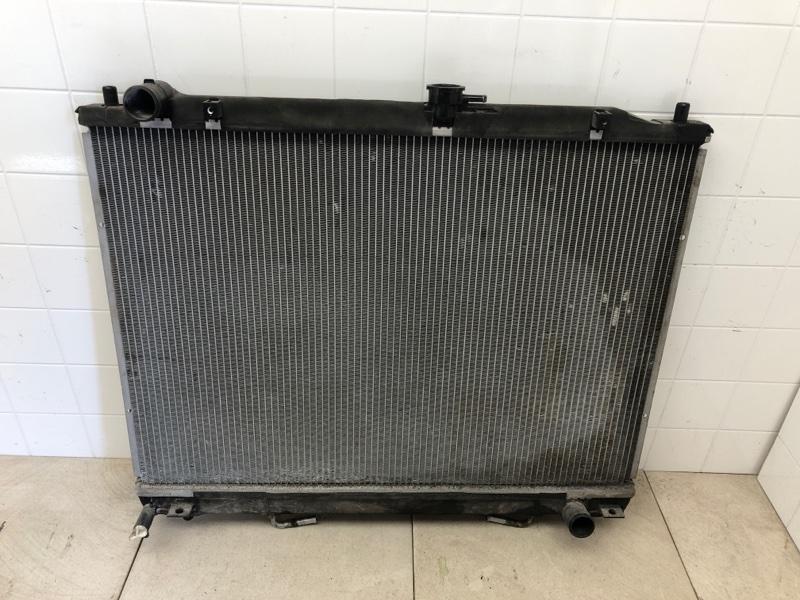 Радиатор двс Mitsubishi Pajero 4 V87W 4M41 2006 (б/у) 1350A659