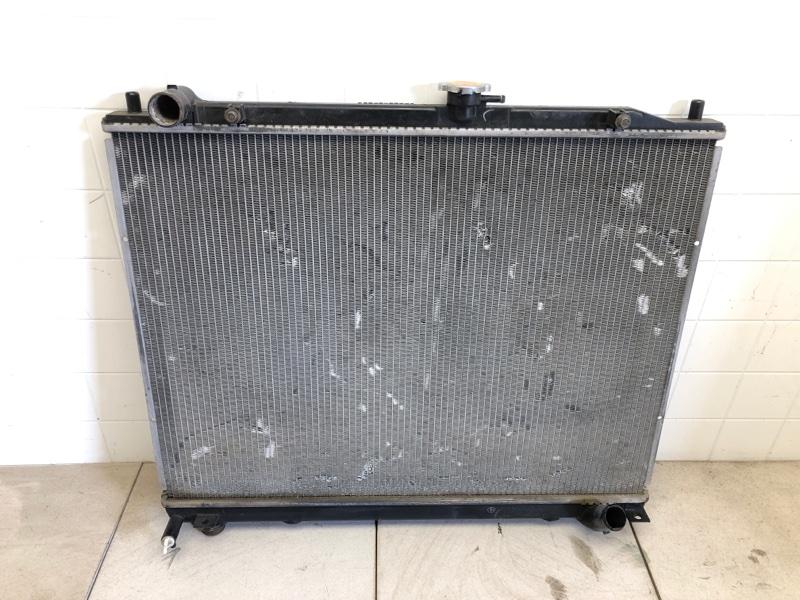 Радиатор двс Mitsubishi Pajero 4 V87W 4M41 2006 (б/у) 1350A628
