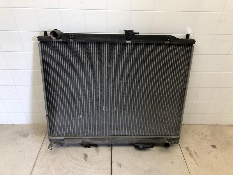 Радиатор двс Mitsubishi Pajero 4 V87W 4M41 2006 (б/у) 1350A302