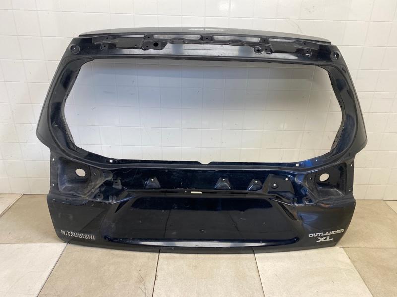 Крышка багажника Mitsubishi Outlander Xl CW1W 4B11 2006 2007 2008 2009 2010 2011 2012 задняя (б/у) 5801A524