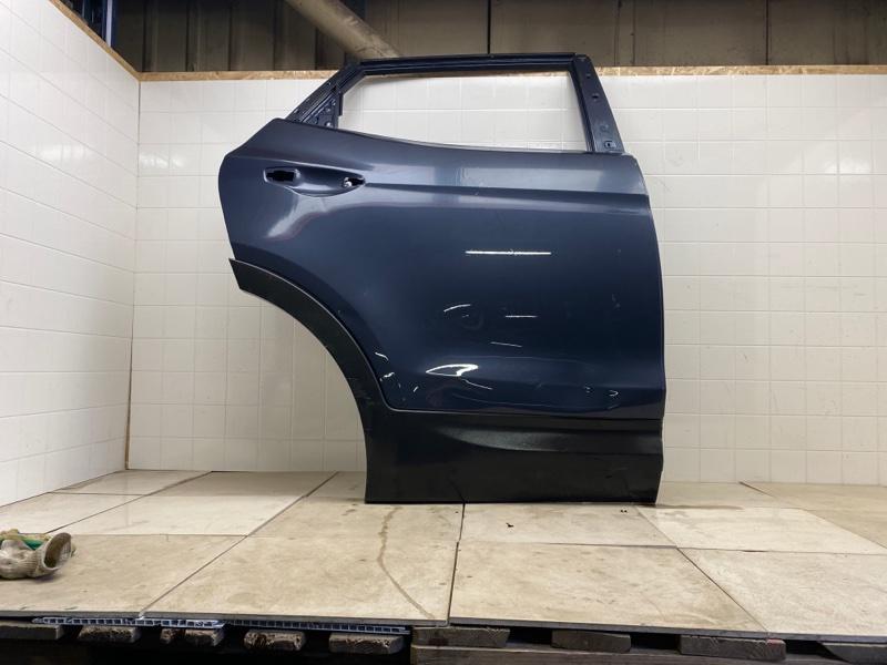 Дверь Hyundai Santa Fe 3 2013 задняя правая (б/у) 770042W000
