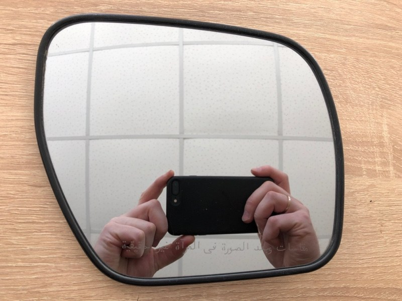 Зеркальный элемент Mitsubishi Pajero 4 V98W 4M41 2006 правый (б/у) 7632A532