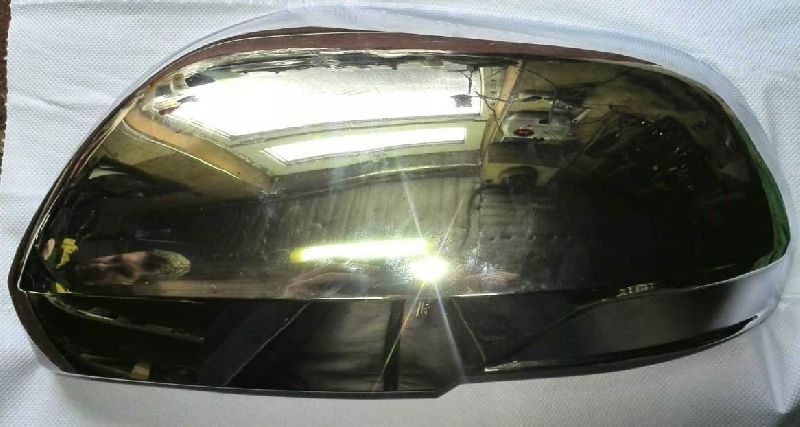 Накладка зеркала Mitsubishi Pajero Sport 3 KS1W 4N15 2015 левая (б/у) 7632C927