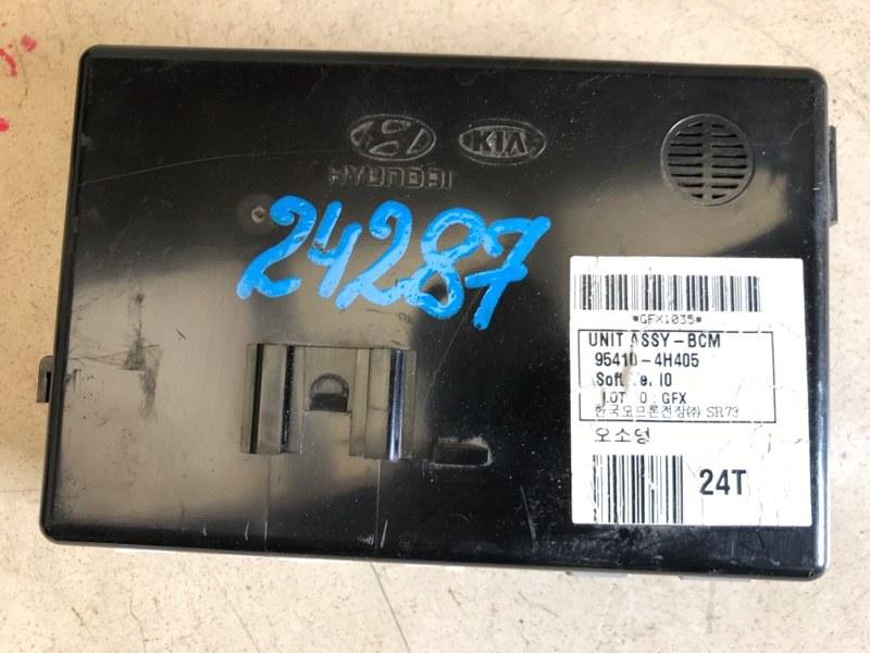 Блок управления Hyundai Starex H1 TQ G4KE 2007 (б/у) 954104H405