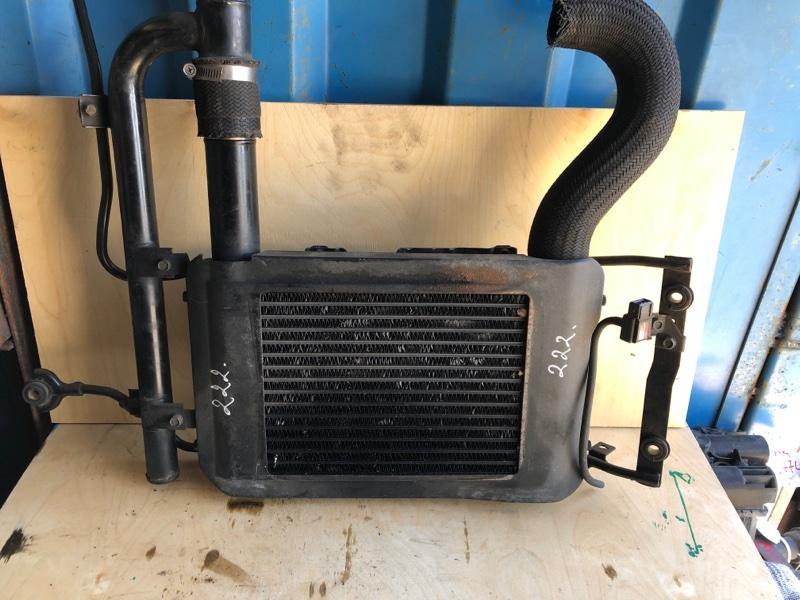 Радиатор интеркуллера Mitsubishi Pajero Sport 1 K97W 4D56 1998 (б/у) MR571357
