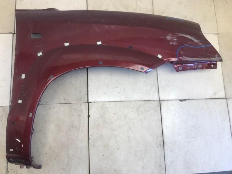 Крыло Hyundai Tucson 1 2004 2005 2006 2007 2008 2009 2010 переднее правое (б/у) 663212E130