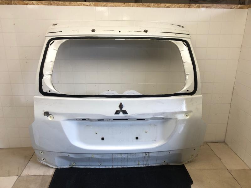 Крышка багажника Mitsubishi Pajero Sport 3 KS1W 4N15 2016 2017 2018 2019 2020 задняя (б/у) 5801B684