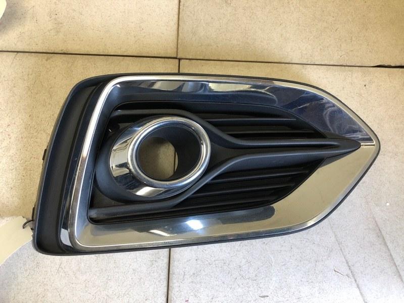 Окантовка птф Hyundai Solaris 2 H5 G4LC 2017 передняя правая (б/у) 86528H5000
