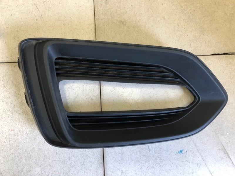 Окантовка птф Hyundai Solaris 2 H5 G4LC передняя левая (б/у) 86521H5000